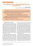Đặc điểm tính cách và hành vi tìm kiếm thông tin của giảng viên