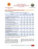 Bản tin Cập nhật thị trường lao động số 13, quý 1 năm 2017