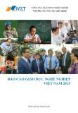 Báo cáo giáo dục nghề nghiệp Việt Nam 2015