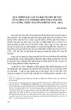 Quá trình xác lập và bảo vệ chủ quyền vùng biển Tây Nam Bộ thời chúa Nguyễn và vương triều Nguyễn (thế kỷ XVII-XIX)