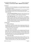 Bài giảng Thông tin dữ liệu và mạng máy tính - Chương 3: Cơ sở giao thức (Protocol basics)