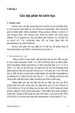 Bài giảng Sinh học phân tử - Chương 1: Các đại phân tử sinh học