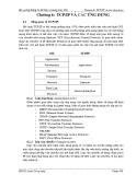 Bài giảng Thông tin dữ liệu và mạng máy tính - Chương 6: TCP/IP và các ứng dụng