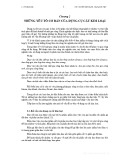 Bài giảng Cơ sở cắt gọt kim loại - Chương 2: Những yếu tố cơ bản của dụng cụ cắt kim loại