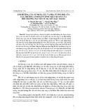 Ảnh hưởng của sự phân cực và pha tương đối của các trường laser lên tính chất quang của môi trường nguyên tử ba mức bậc thang