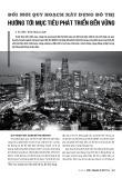 Đổi mới quy hoạch xây dựng đô thị hướng tới mục tiêu phát triển bền vững