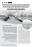 Một số vấn đề trong tổ chức không gian ở nông thôn với hoạt động kinh tế nông nghiệp công nghệ cao vùng đồng bằng sông Hồng