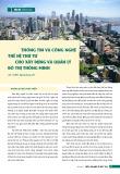 Thông tin và công nghệ thế hệ thứ tư cho xây dựng và quản lý đô thị thông minh