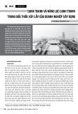 Cạnh tranh và năng lực cạnh tranh trong đấu thầu xây lắp của doanh nghiệp xây dựng