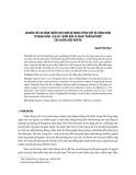 """Nghiên cứu so sánh chiến lược nhờ vả trong tiếng Việt và tiếng Nhật từ quan điểm lịch sự – Bước đầu so sánh """"phần mở đầu"""" của chiến lược nhờ vả"""