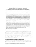 Chính sách giáo dục ngoại ngữ của Trung Quốc hiện nay và một vài kiến nghị đối với chính sách giáo dục ngoại ngữ ở Việt Nam