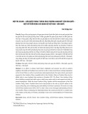 """Hợp tác Asean – Hàn Quốc trong """"chính sách phương nam mới"""" của Hàn Quốc: Một số triển vọng cho quan hệ Việt Nam - Hàn Quốc"""