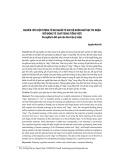 Nghiên cứu hiện tượng từ đa nghĩa từ góc độ Ngôn ngữ học tri nhận (Với động từ chạy trong tiếng Việt) đa nghĩa là kết quả của hòa trộn ý niệm