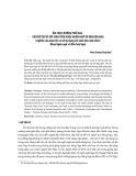Ẩm thực đường phố Nga - Chủ đề thú vị với sinh viên khoa Ngôn ngữ và Văn hóa Nga (Nghiên cứu dựa trên cơ sở áp dụng với sinh viên năm thứ 2 khoa Ngôn ngữ và Văn hóa Nga)