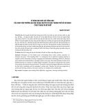 Kỹ năng đọc báo chí tiếng Anh của sinh viên trường Đại học Ngoại ngữ và Tin học thành phố Hồ Chí Minh - Thực trạng và đề xuất