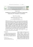 Standard in U.S. Regional accreditation commissions: Implications for Vietnamese accreditation
