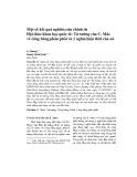 Một số kết quả nghiên cứu chính từ Hội thảo khoa học quốc tế: Tư tưởng của C. Mác về công bằng phân phối và ý nghĩa hiện thời của nó