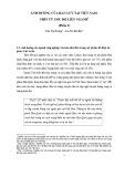 Ảnh hưởng của hàn lưu tại Việt Nam: Nhìn từ góc độ liên ngành (phần 2)