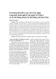 Xu hướng biến đổi và các yếu tố tác động trong thực hành nghi lễ của người Xơ Teng ở xã Tu Mơ Rông, huyện Tu Mơ Rông, tỉnh Kon Tum