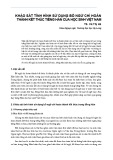 Khảo sát tình hình sử dụng bổ ngữ chỉ hoàn thành kết thúc tiếng Hán của học sinh Việt Nam