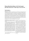 Phòng chống tham nhũng có yếu tố nước ngoài: Đạo luật của Hoa Kỳ và một số gợi ý cho Việt Nam