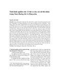 Tình hình nghiên cứu về thơ ca của các nữ thi nhân trong Toàn Đường thi và Manyoshu