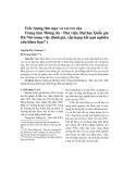 Trắc lượng thư mục và vai trò của Trung tâm Thông tin - Thư viện, Đại học Quốc gia Hà Nội trong việc đánh giá, xếp hạng kết quả nghiên cứu khoa học