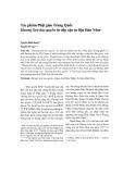 Tác phẩm Phật giáo Trung Quốc Hương Sơn bảo quyển từ tiếp cận tư liệu Hán Nôm