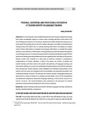 Personal, contextual and professional integration of teacher identity in language teaching