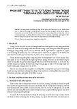 Phân biệt thán từ và từ tượng thanh trong tiếng Hán (Đối chiếu với tiếng Việt)