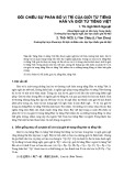 Đối chiếu sự phân bố vị trí của giới từ tiếng Hán và giới từ tiếng Việt