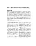 Triết lý nhân sinh trong ca dao, tục ngữ Việt Nam