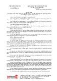 Quyết định số 07/2019/QĐ-TTg