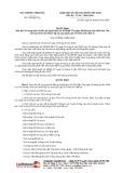 Quyết định số 1201/2019/QĐ-TTg