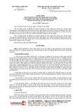 Quyết định số 1268/2019/QĐ-TTg