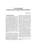 Tư duy về Hiến pháp và việc xây dựng cơ chế bảo vệ Hiến pháp ở Việt Nam