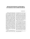 Mối quan hệ giữa đổi mới kinh tế và đổi mới chính trị ở Việt Nam hiện nay: Vấn đề và phương pháp nghiên cứu
