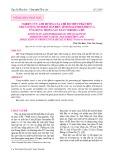 Nghiên cứu ảnh hưởng của chế độ thủy phân đến chất lượng tinh bột bắp biến tính (maltodextrin) và ứng dụng trong sản xuất surimi cá Hố