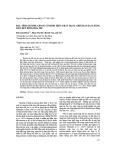 Đặc tính enzyme lipase cố định trên chất mang chitosan Fe3O4 bằng liên kết đồng hóa trị