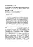 Lựa chọn điều kiện lên men cho sự sinh trưởng chủng Bacillus subtilis BSVN15 ứng dụng sản xuất chế phẩm probiotic trong chăn nuôi