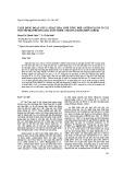 Tách dòng đoạn gen LC hoạt hóa sinh tổng hợp anthocyanin ở cây ngô nếp địa phương (Zea mays subsp. Ceratina (Kuelshov) Zhuk)