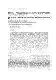 Phân lập và mô tả trình tự các gen mã hóa Leucoanthocyanidin reductase và Anthocyanidin reductase từ chè trung du xanh Thái Nguyên (Camellia sinensis)