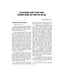 Tài nguyên nước ở Việt Nam: Nguyên nhân suy giảm và hệ lụy
