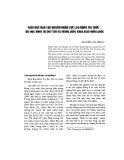 Giáo dục đào tạo nguồn nhân lực lao động tri thức - Bài học Minh Trị Duy Tân và Trung Quốc Khoa giáo hưng quốc