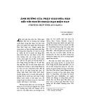 Ảnh hưởng của Phật giáo Hòa Hảo đối với người ngoài đạo hiện nay (Trường hợp tỉnh An Giang)