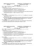 Đề kiểm tra 1 tiết Hình học 11 chương 1 năm 2018-2019 có đáp án - Trường THPT thị xã Quảng Trị
