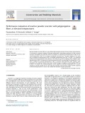 Performance evaluation of reactive powder concrete with polypropylene fibers at elevated temperatures