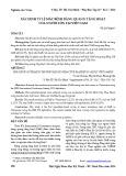 Xác định tỷ lệ mắc bệnh bàng quang tăng hoạt của người lớn tại Việt Nam