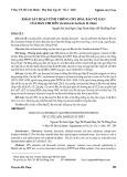 Khảo sát hoạt tính chống oxy hóa, bảo vệ gan của Bán chi liên (Scutelaria barbata D. Don)