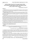 Đánh giá độc tính cấp và tác động kháng viêm của cao đặc từ dịch chiết lá Lược vàng khô và tươi (Callisia fragrans (Lindl.) Woodson)